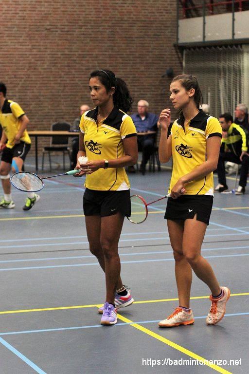 Manon Sibbald en Georgy van Soerland-Trouerbach