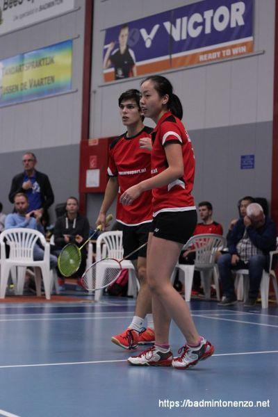 Thomas Sibbald en Linda Chen