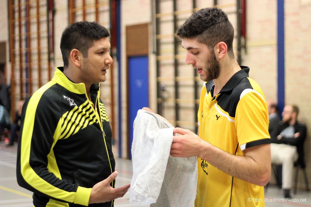 Dave Khodabux, Aram Mahmoud