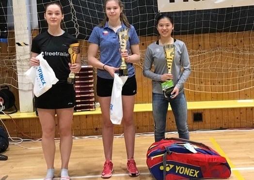 Amy Tan wint Czech Junior 2018
