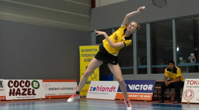 AviAir Almere – Hoornse BV (7-1) De foto's @BadmintonNLD @hoornse_bv