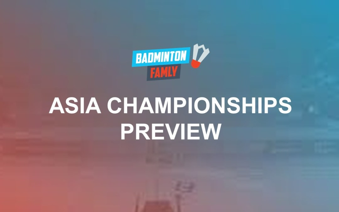 Asia Championships sets off in Wuhan – Preview