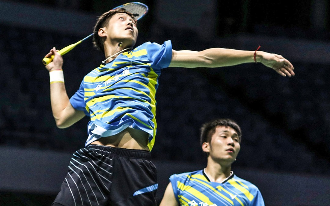 Extremely close games for Taiwanese men's double