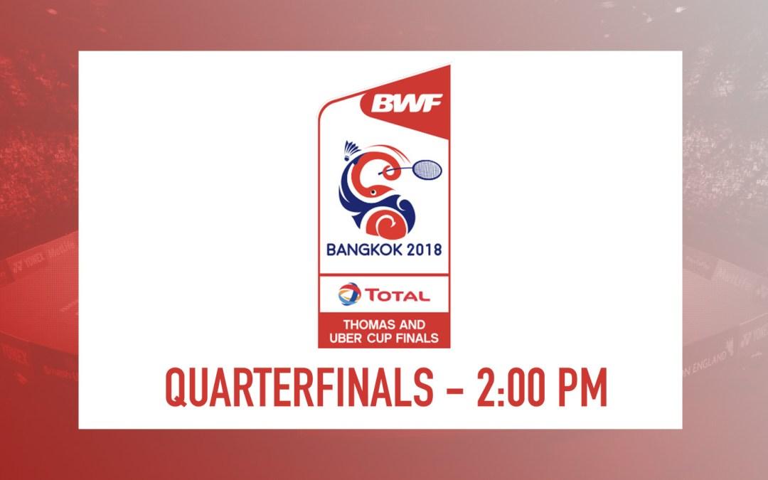 Quarterfinals predictions 2:00 PM