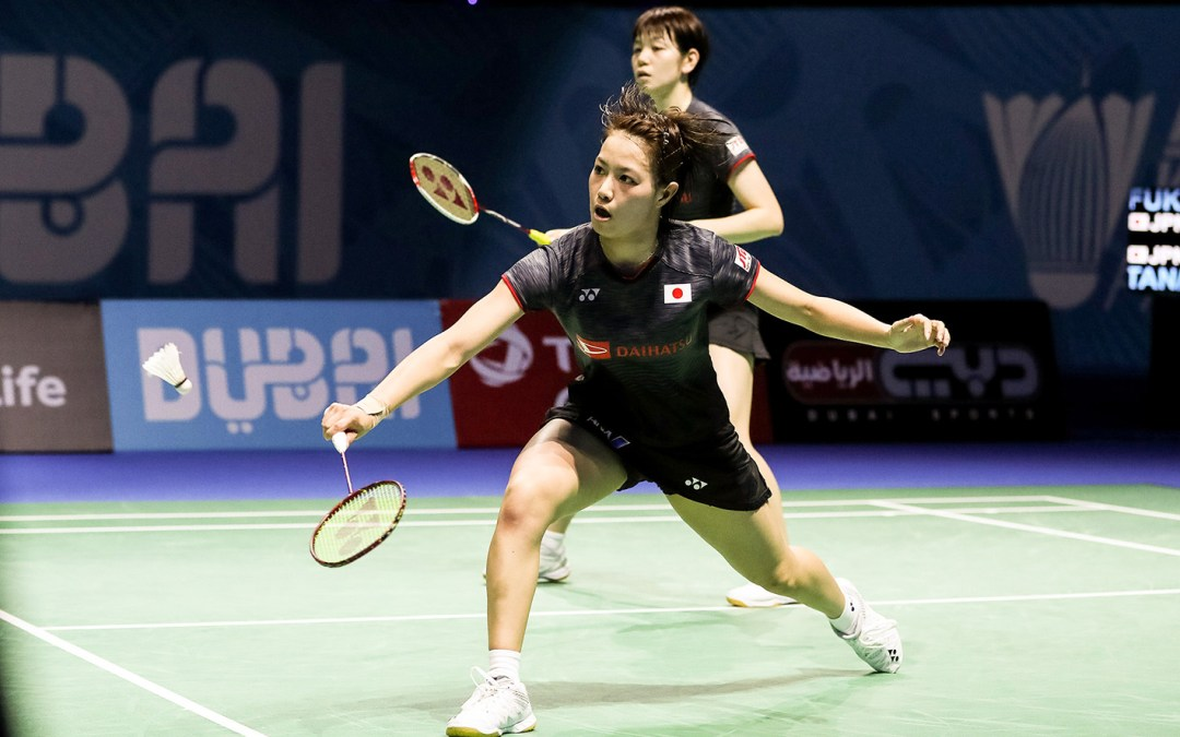 Finals from Japan Open: Asian Games rematch in women's double final