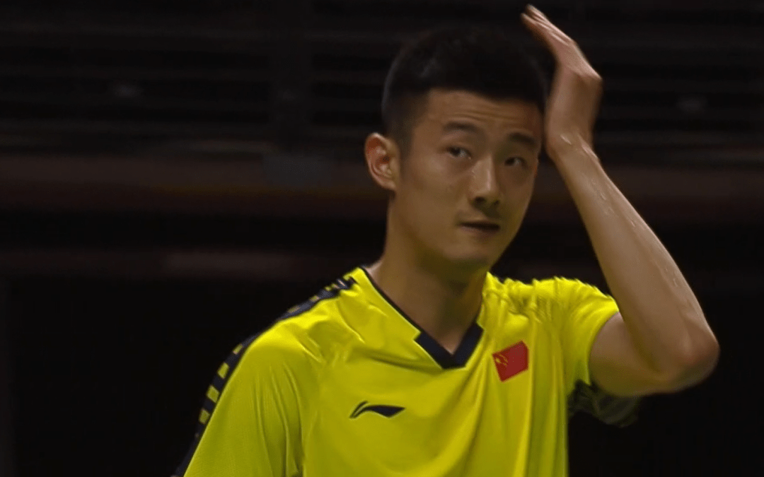 First round exit for Chen Long – again.