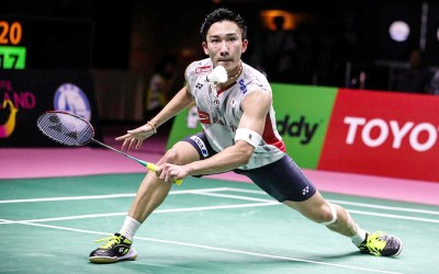 46ceb394a9e Finals from Japan Open  Momota makes history
