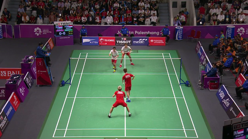 Wild drama in the last final of the Asian Games as Indonesia claims silver and gold