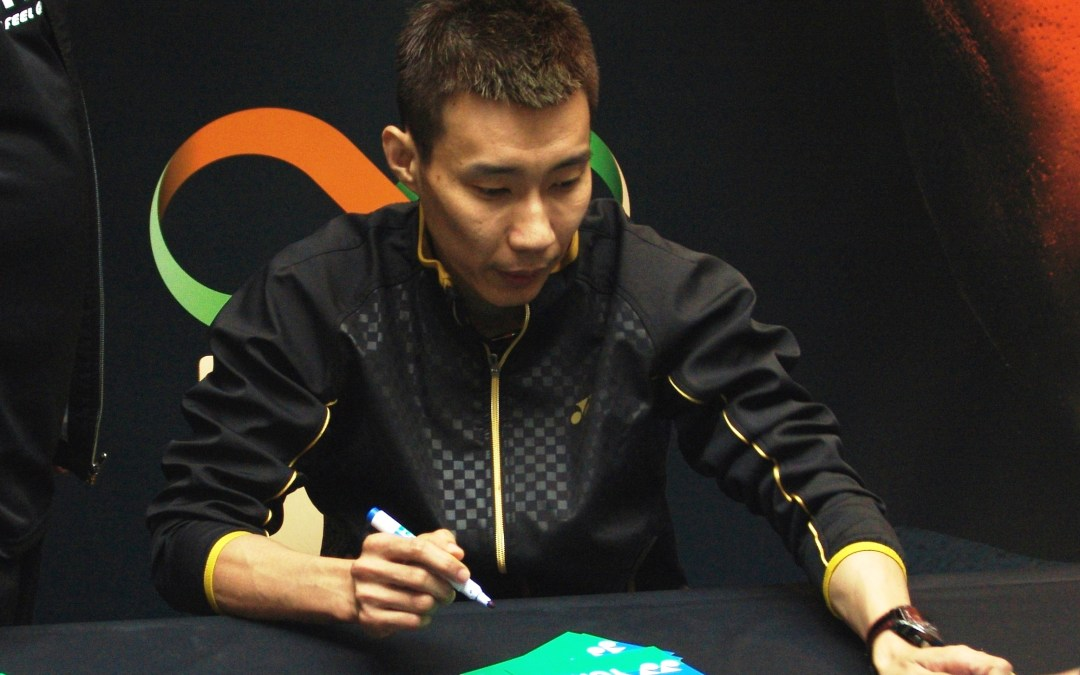 Lee Chong Wei on press conference: I go for Olympic gold in 2020!