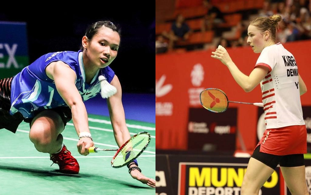Tai Tzu Ying struggling in the final on home soil