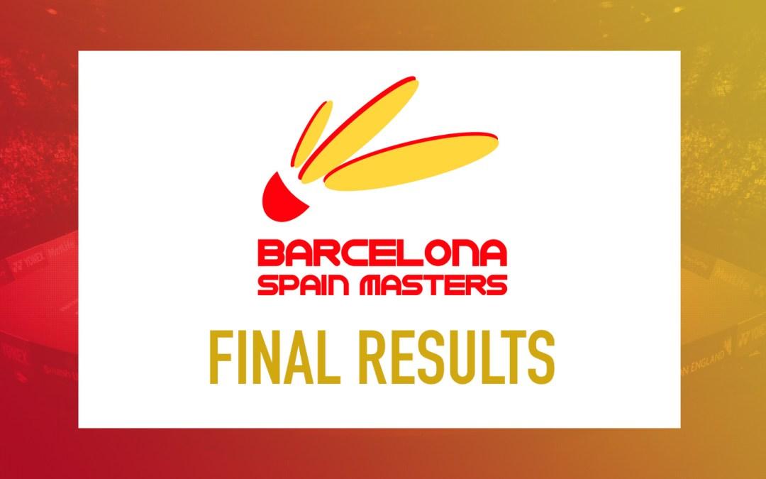 Barcelona Spain Masters Finals 2019