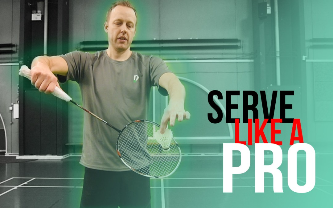 Serve like a pro
