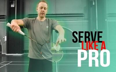 Serve like a pro