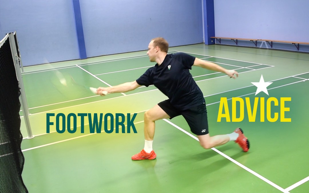 Advice for your badminton footwork!