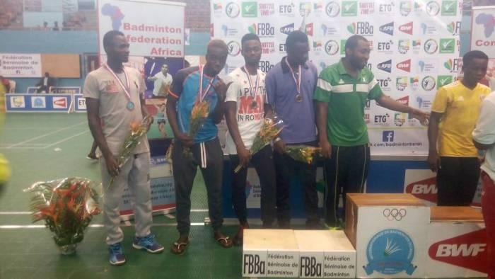 Victorious Nigerian team in Benine