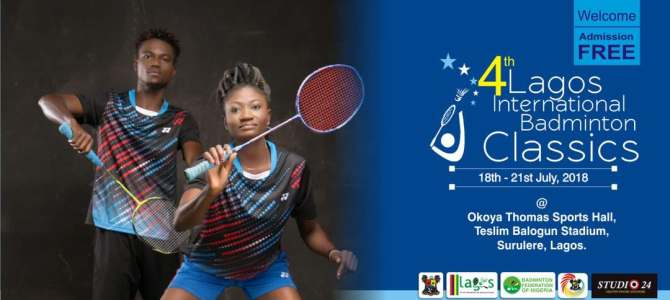 Results of day 2 at the 4th Lagos international Badminton Classics