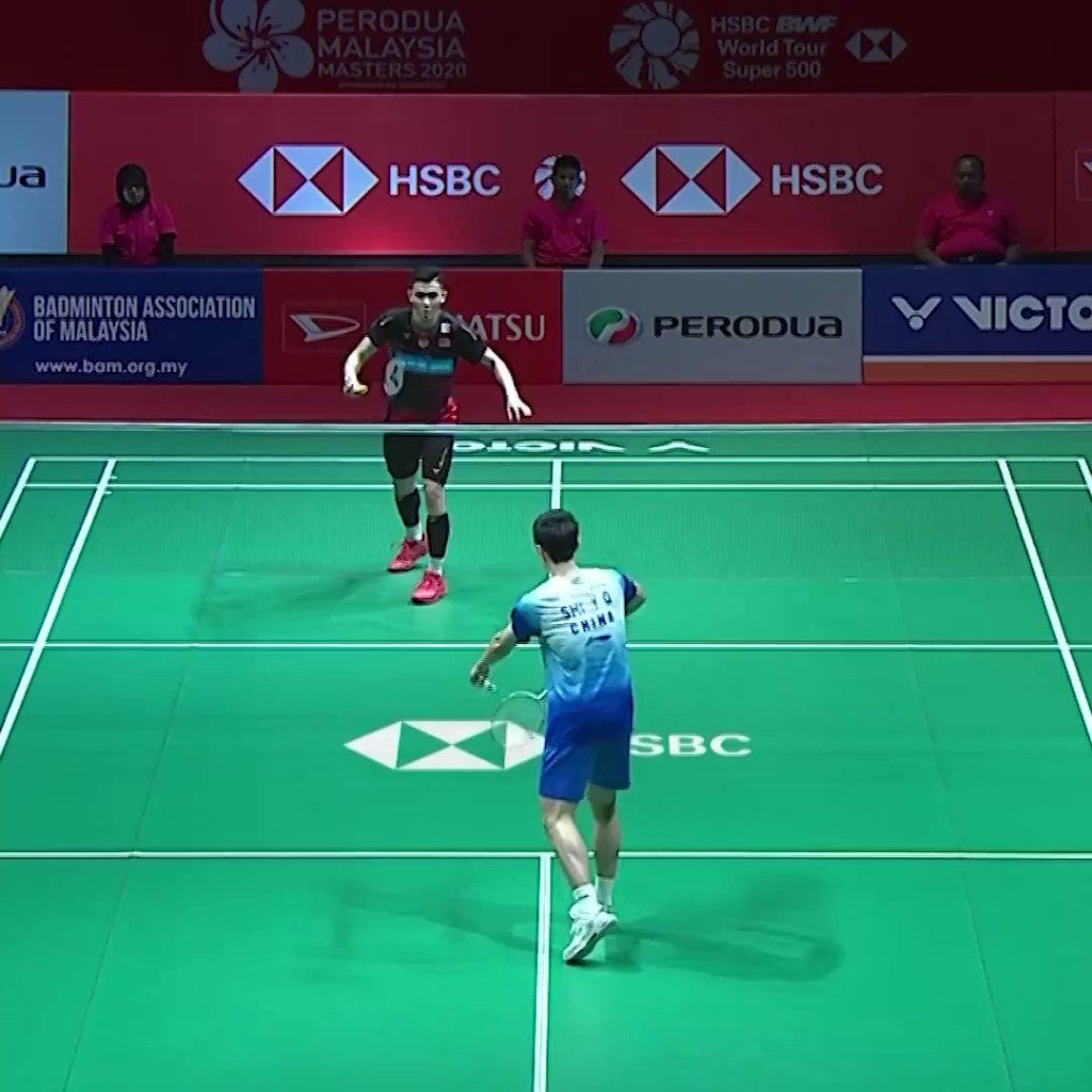 HNc3zZP1WVwBDXGW - Do you miss watching Lee Zii Jia on a badminton court Here you go, feast on his signature backhand smash. BadmintonAtHome