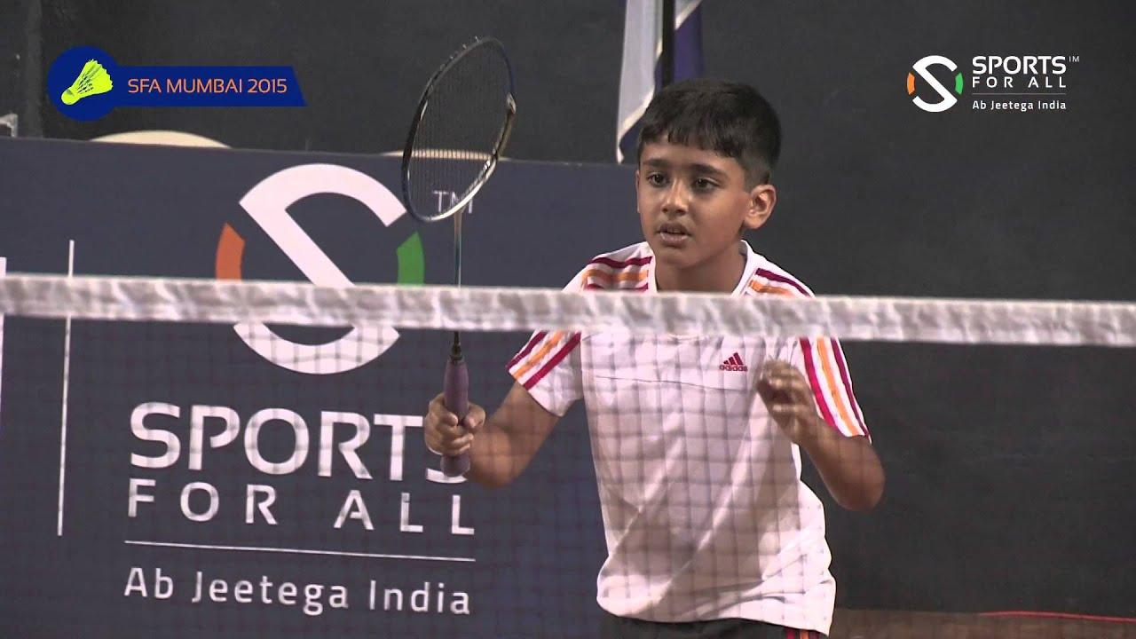 maxresdefault 44 - SFA Mumbai 2015   Badminton   Aadit Jain Vs Aarav Ovalekar   Boys   U11   Q/F