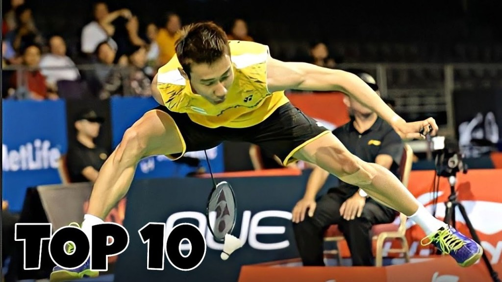 maxresdefault 50 - Top 10 Best Badminton Trickshot by LEE CHONG WEI | Badminton Trick Shots