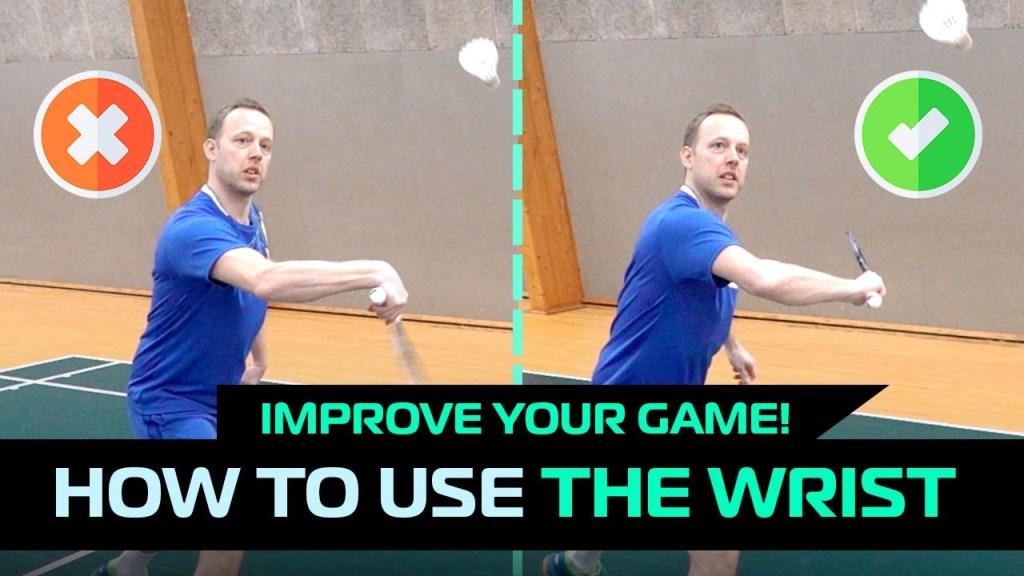 maxresdefault 35 - How to use the wrist in badminton - 5 shots biomechanics