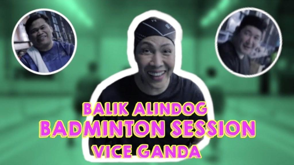 maxresdefault 38 - Balik Alindog Badminton Session | VICE GANDA