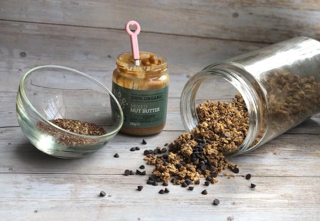 Préparation du muesli croutillant ou granola