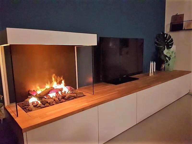 TV meubel met eiken blad Ikea  Jasper Badoux