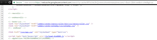 Google's cached copy of ShowtimeAnytime.com
