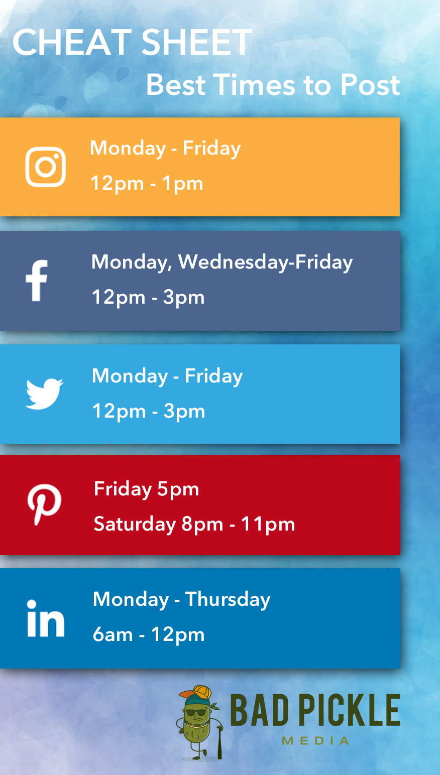 Social Media Times To Post