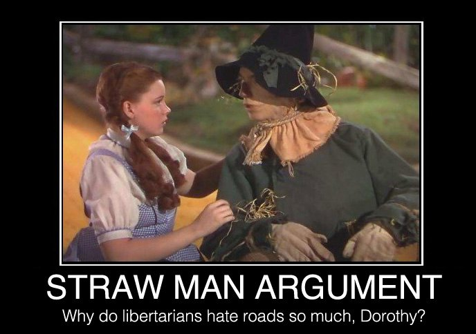 Image result for beating a strawman