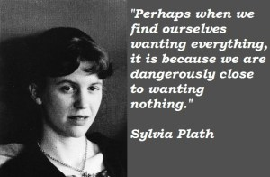 Sylvia Plath (flickr on Pinterest)