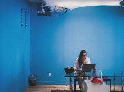 blue wall office