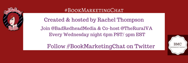 How Can #BookMarketingChat Help You Sell More Books? via @BadRedheadMedia, book marketing
