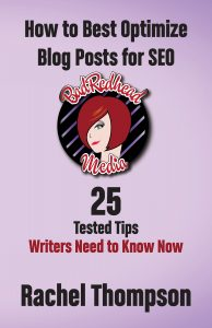 How to optimize your blog posts by @BadRedheadMedia