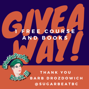 #giveaway free course and books