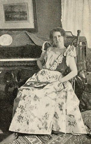 Photograph of Mary Wilkins Freeman