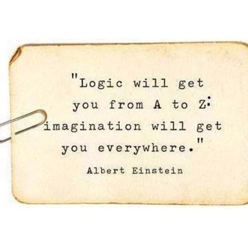 Logic wil get you..._Mijn favoriete quotes_creatief lifestyle blog Badschuim.eu
