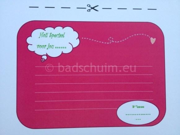 Glimlachbriefjes per dag kleur roos_blog badschuim.eu