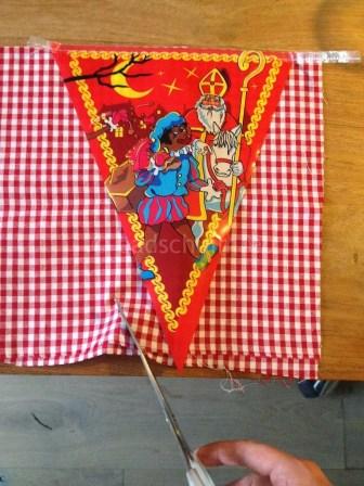 Benodigheden Sinterklaas en zwarte piet slinger 2
