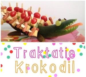 afscheid kinderdagverblijf traktatie krokodil, leuk voor verjaardag maar ook als afscheid traktatie.