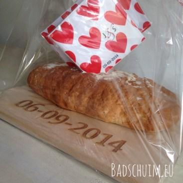 wittebroodsweken cadeau I Zo maak je hem: DIY I Creatief blog Badschuim.eu
