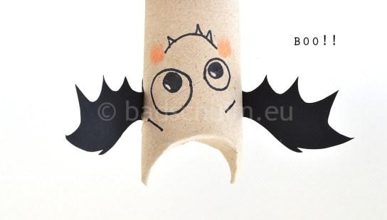 halloween wc rol knutselen
