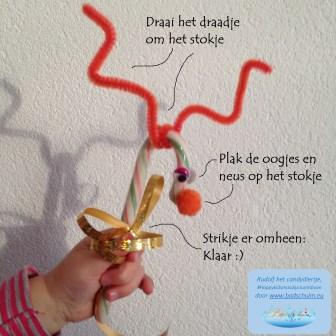 Rudolf het candydiertje_happykidsmas DIY countdown_blog badschuim.eu_uitleg