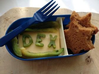 lunchbox ideeën letters