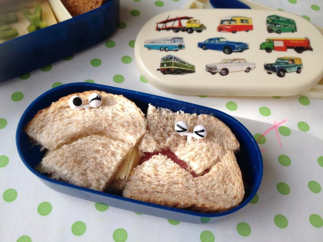 lunchbox ideeën monsters