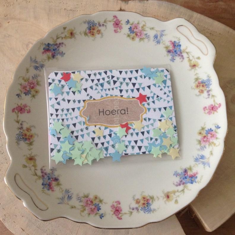 Confetti kaart I DIY I creatief lifestyleblog Badschuim