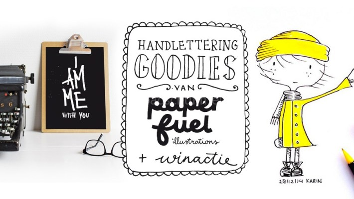 handlettering paperfuel