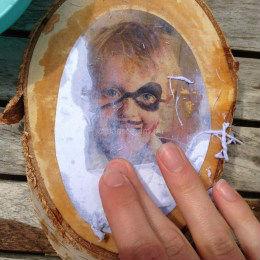 Foto op hout zelf maken
