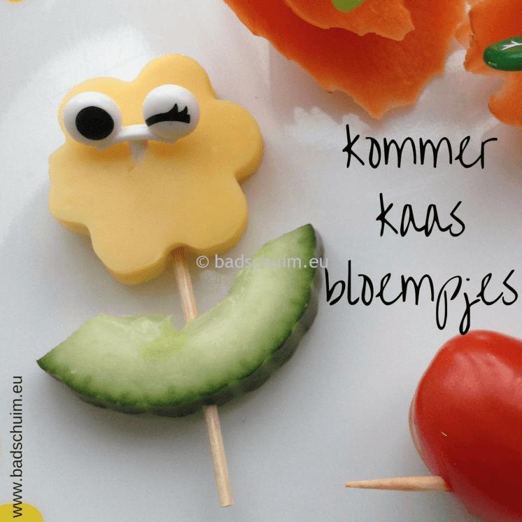Broodtrommel tips wk 6 - gezonde snacks kommerkaasbloempjes I gemaakt door het creatief lifestyle blog Badschuim