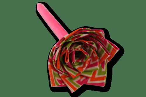 Washi tape bloem op een pen!